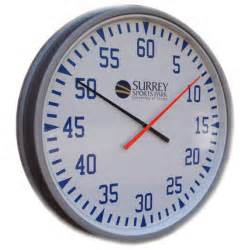 Training Clock (Two Colours Needle)