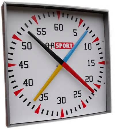 Training Clock (Four Colous Needle)
