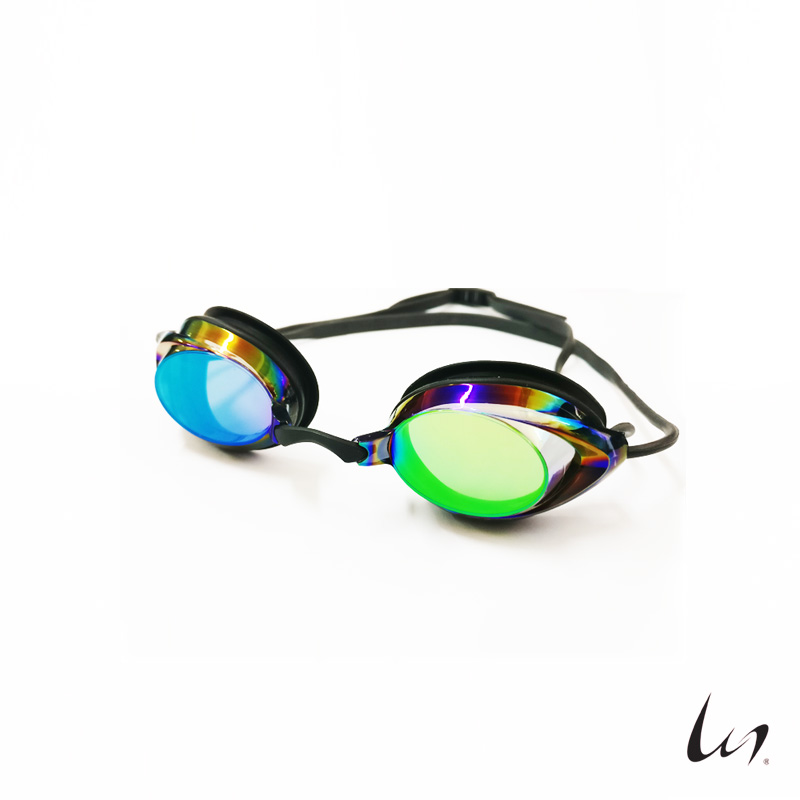 """WGS"" Double Straped Swimming Goggles (Mirrored)"