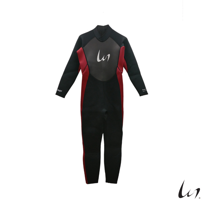 """WGS"" Adult's Fullsleeve Wetsuit (Red)"