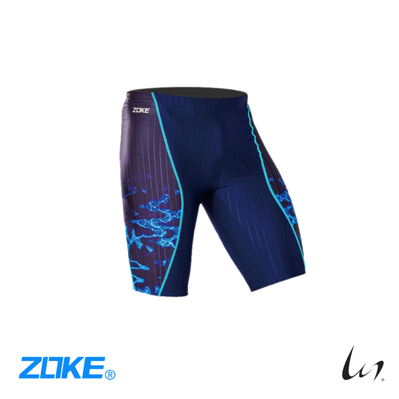 """Zoke"" Quickdry Jammer (Blue)"